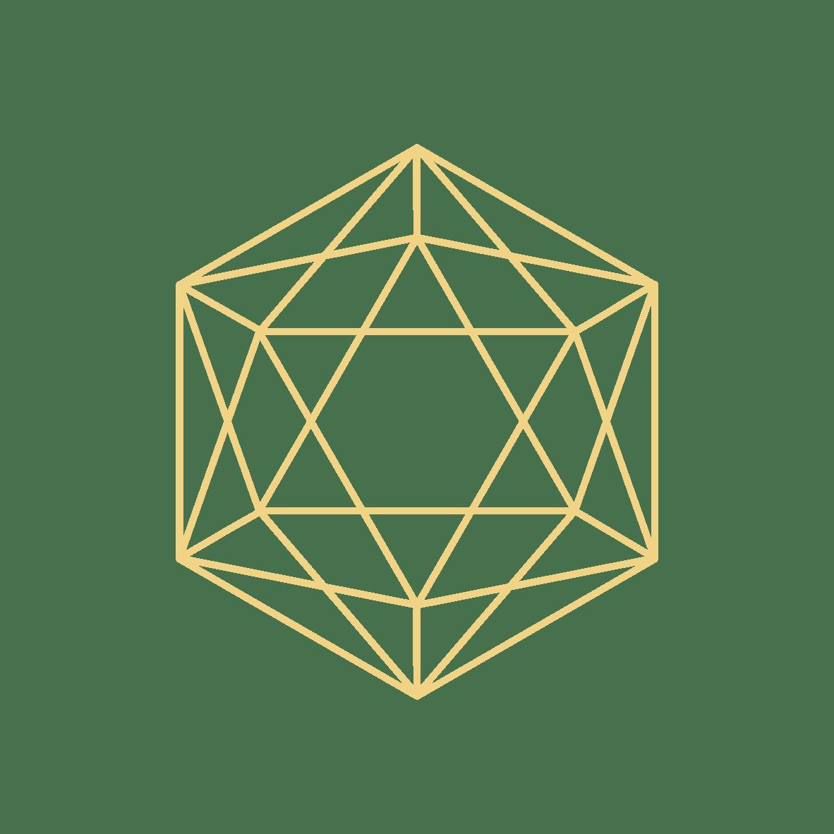 Kraftsymbol gelb CMYK